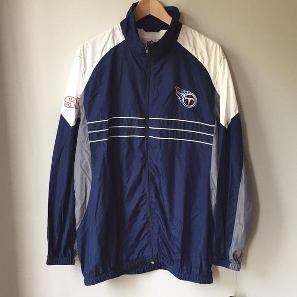 a22b3956 NWT NFL Tennessee Titans Windbreaker Jacket
